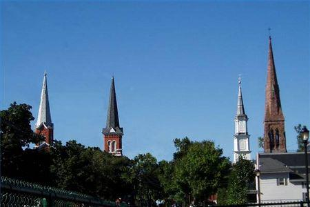 Church steeples biblical truth what you are looking at in this picture is just church steeples right wrong while the church considers them a staple in architecture they are deeply altavistaventures Images